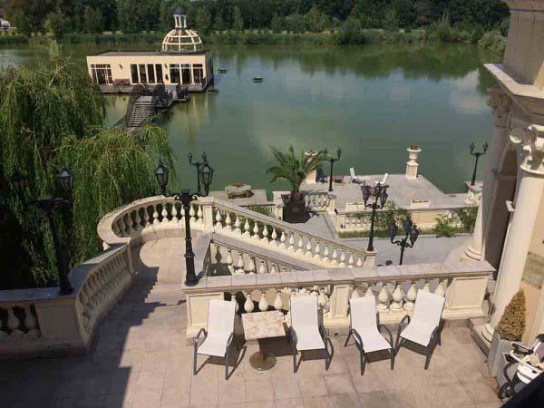 Ślub w plenerze na jeziorem Warszawa